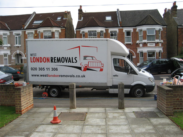 West London Removals Van Fleet